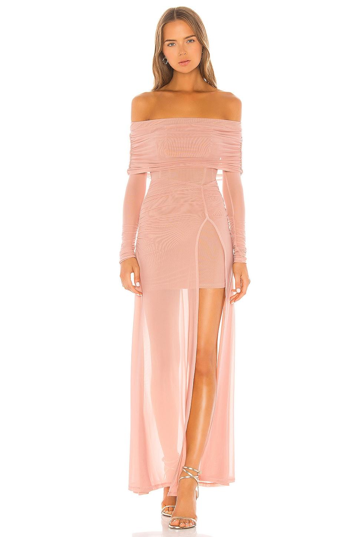 MAJORELLE Hampton Gown in Nude