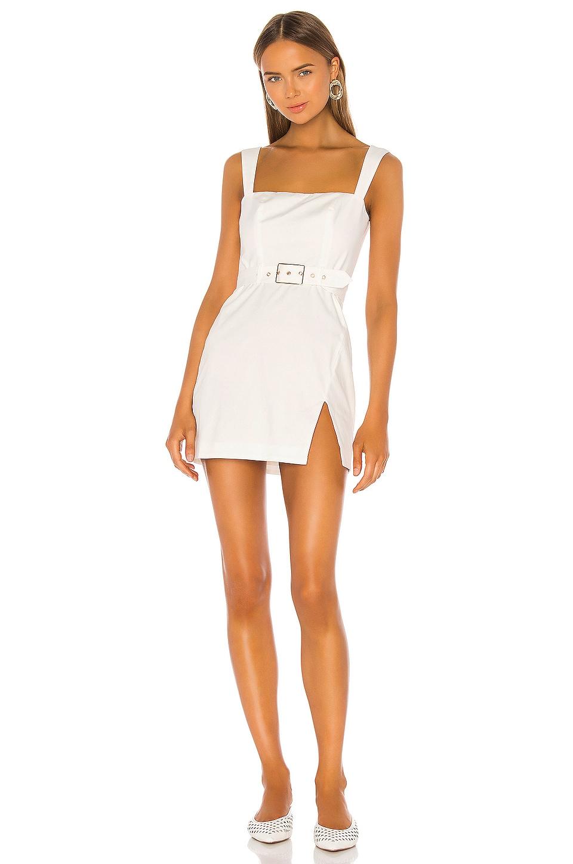 MAJORELLE Carolyn Mini Dress in White