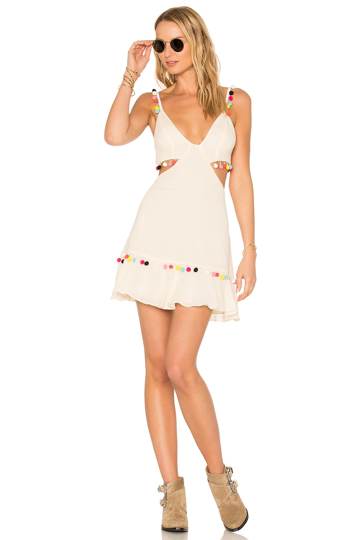 MAJORELLE x REVOLVE Capsize Dress in Ivory
