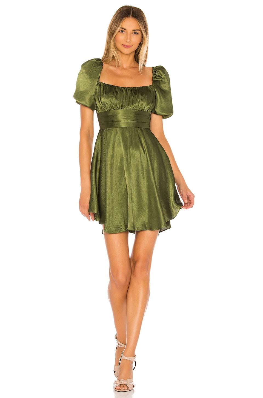 MAJORELLE Tiana Dress in Green