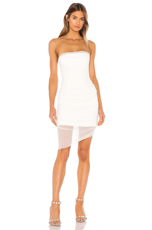 MAJORELLE Ursula Dress in White