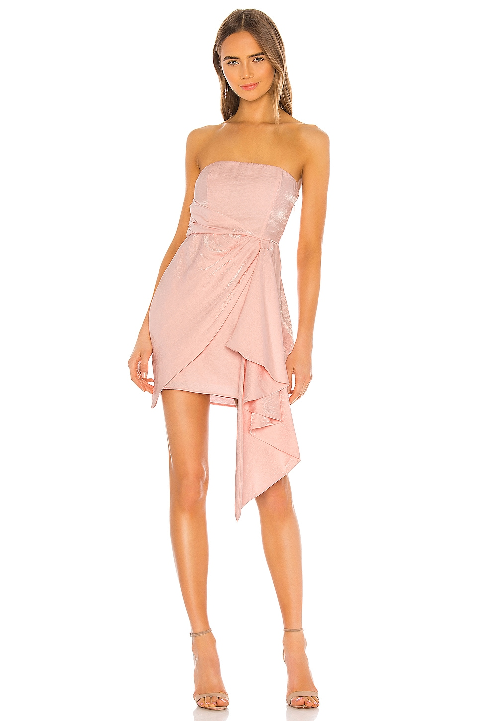 MAJORELLE Lachlan Mini Dress in Pink Cloud