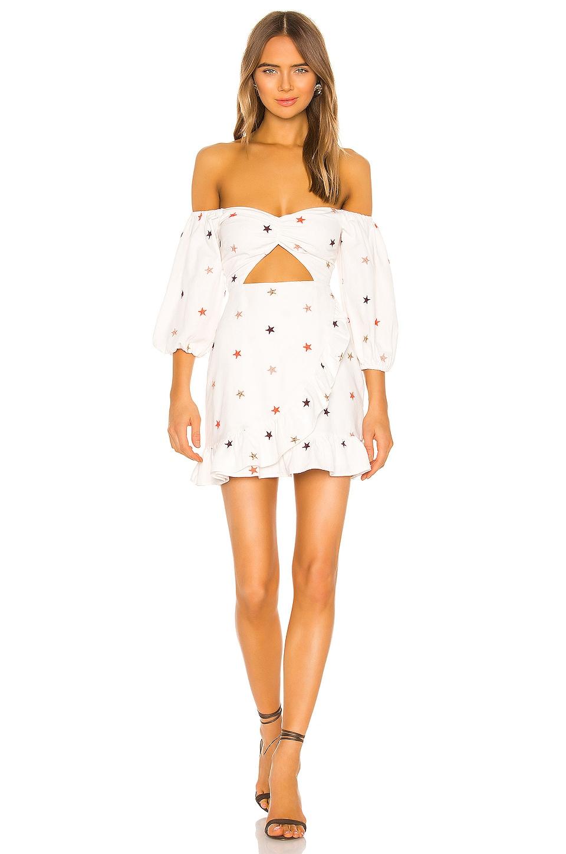 MAJORELLE Michelle Mini Dress in Star Multi