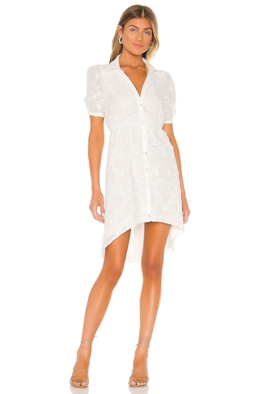 MAJORELLE Conrad Midi Dress in White
