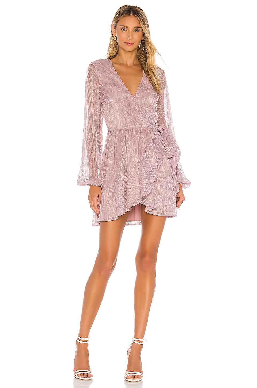 MAJORELLE Raynn Dress en Lilac