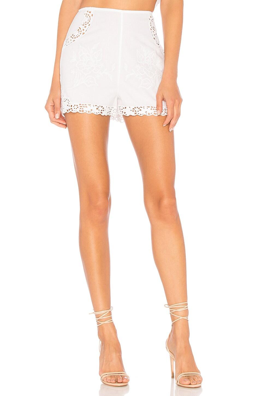 MAJORELLE Kassie Short in White