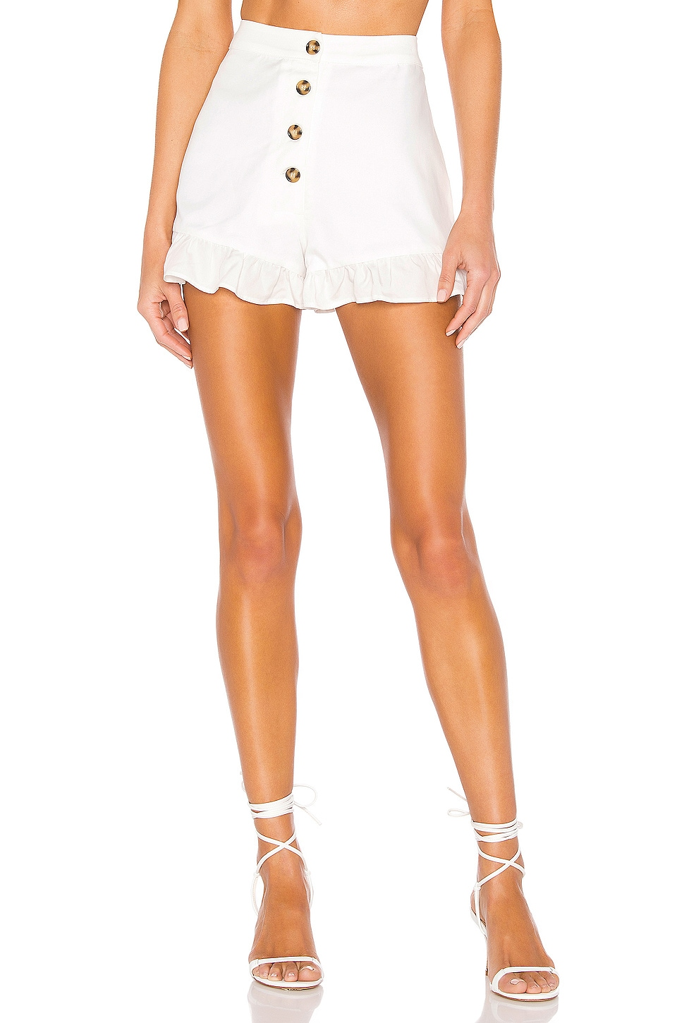 MAJORELLE Morningside Shorts in White