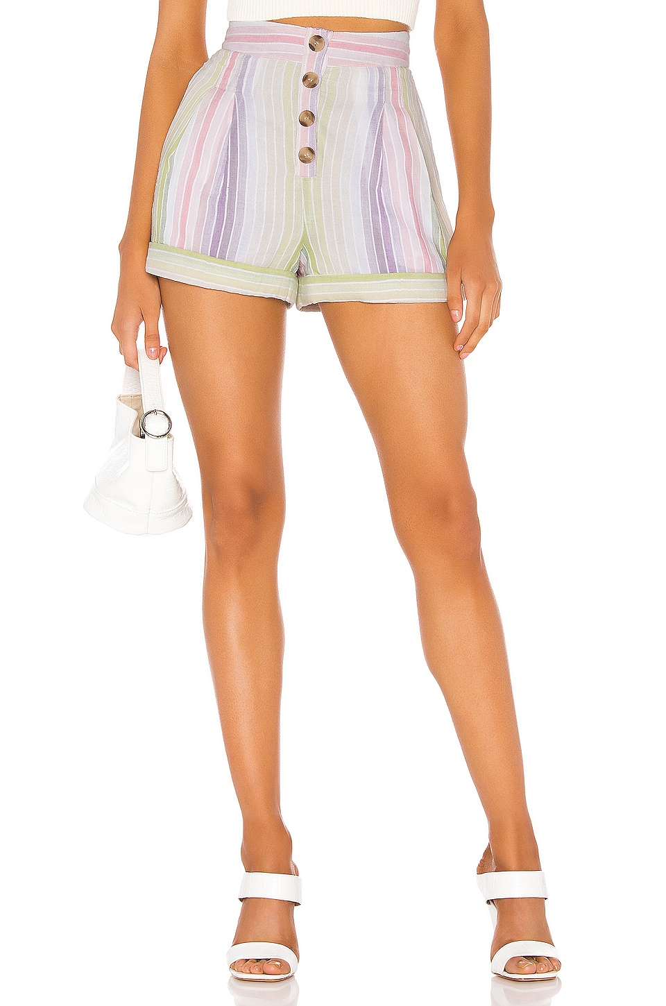 MAJORELLE Hendrix Short in Pastel Multi