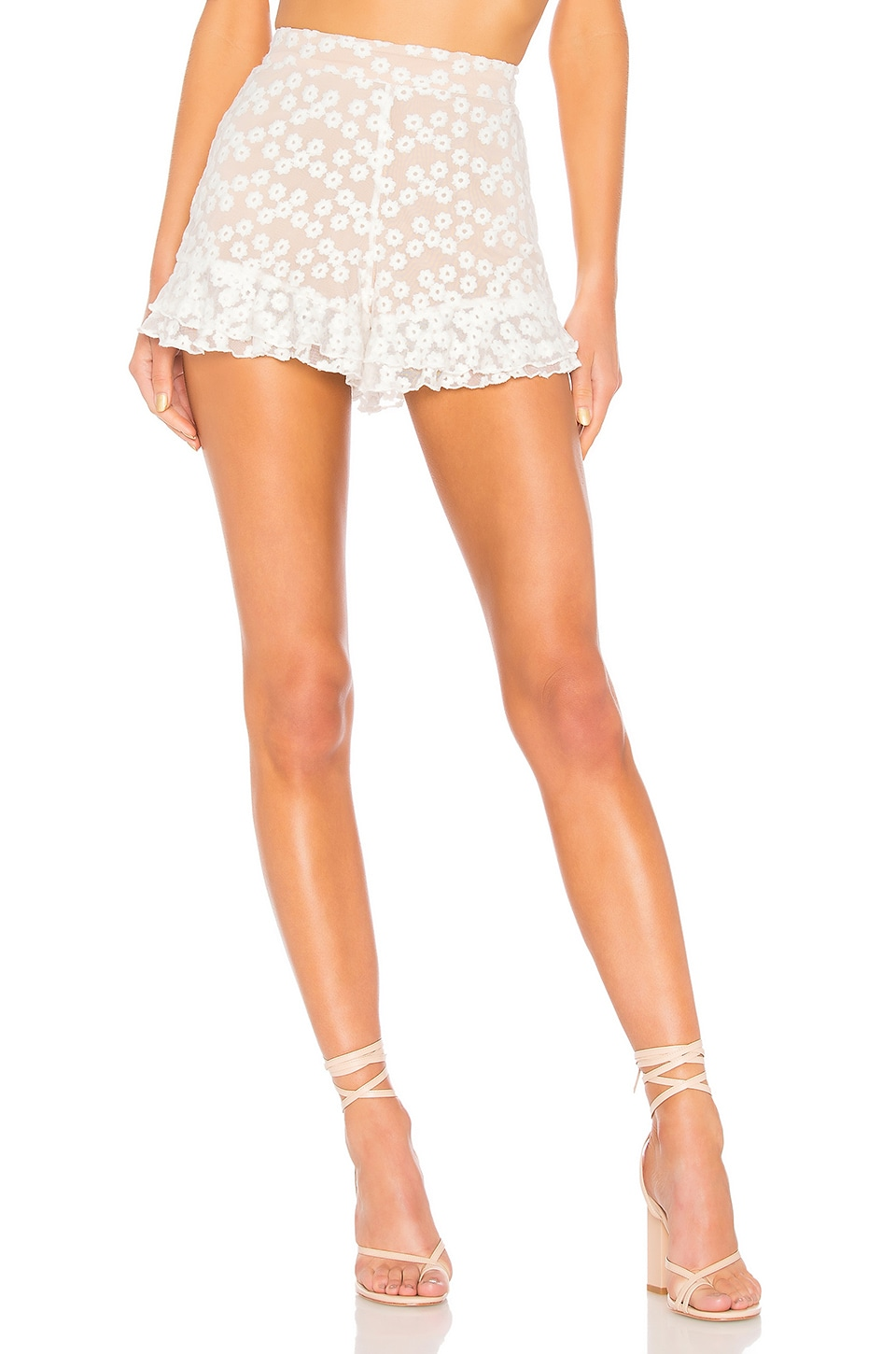 MAJORELLE Whitney Shorts in White