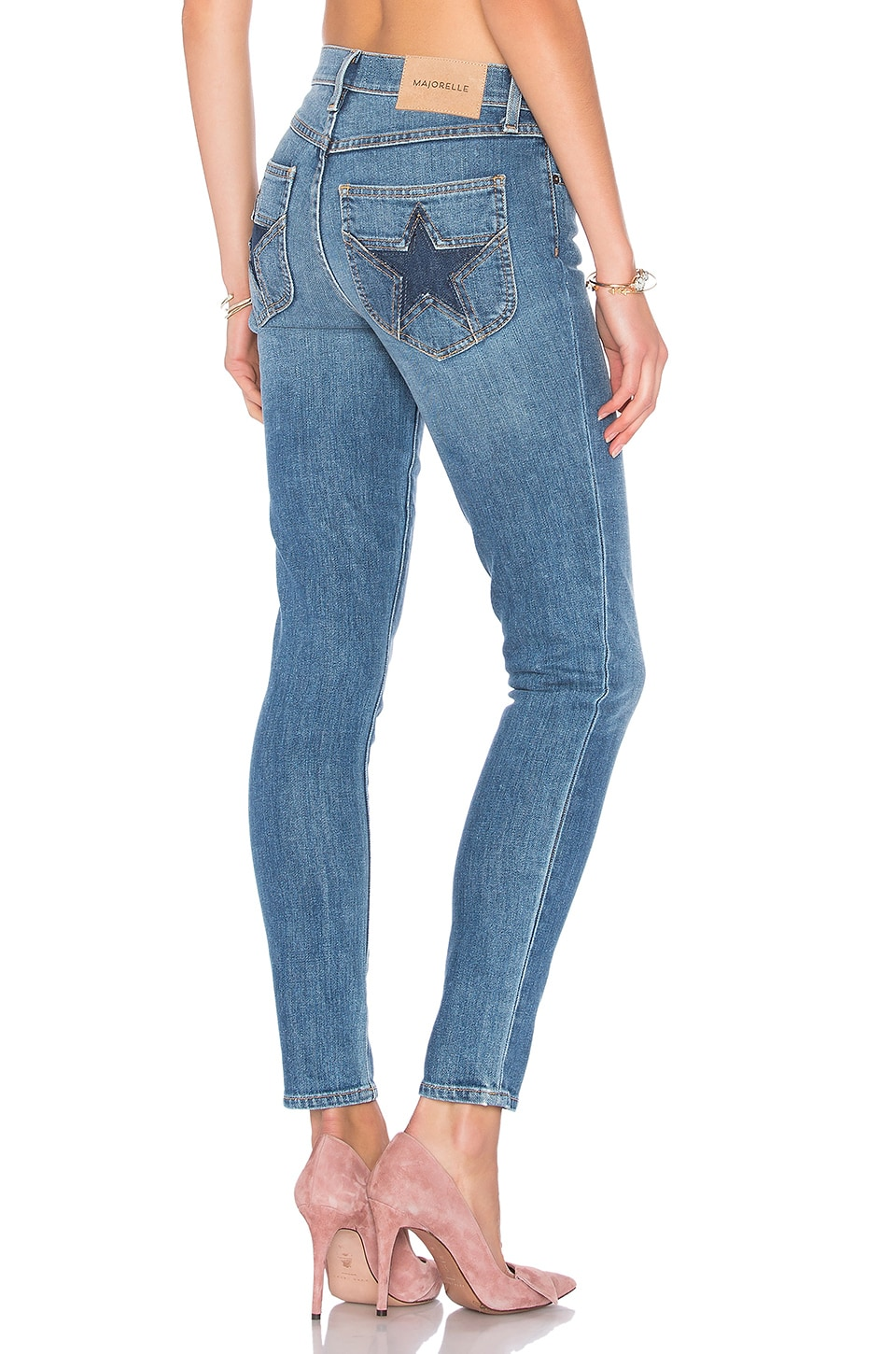 MAJORELLE Bowie Jeans in Dark Wash