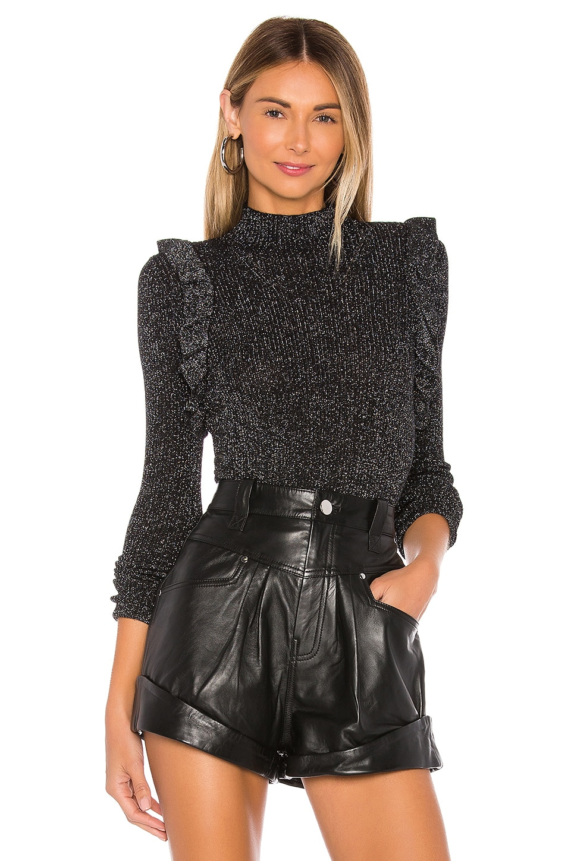 MAJORELLE Annie Sweater in Black
