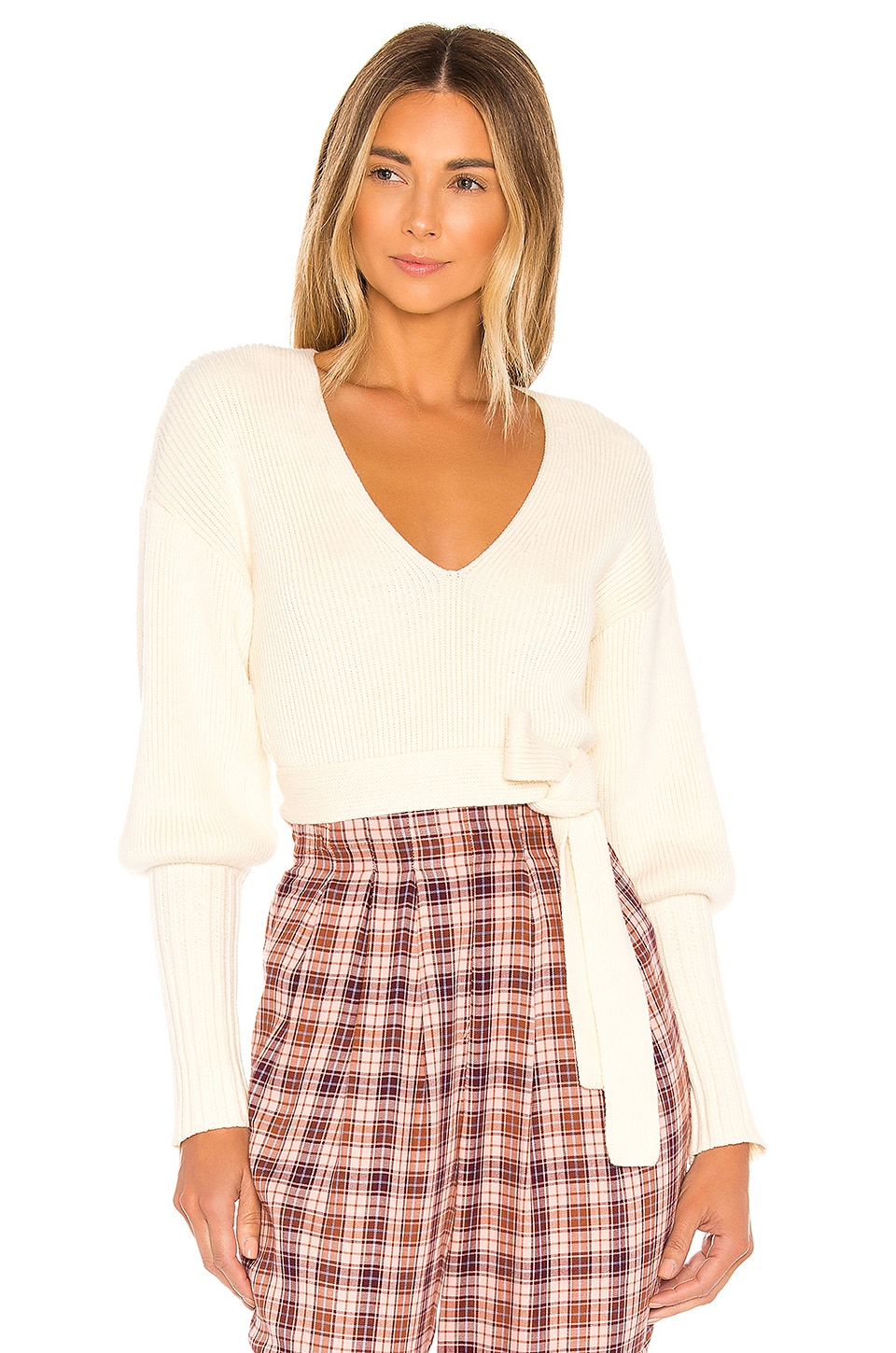 MAJORELLE Shiloh Sweater in Ivory