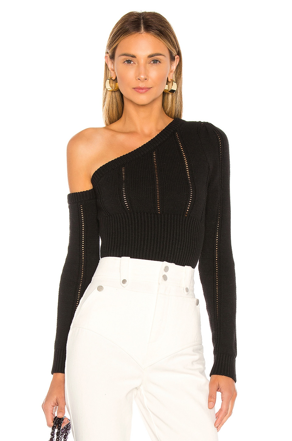 MAJORELLE Landau Sweater in Black