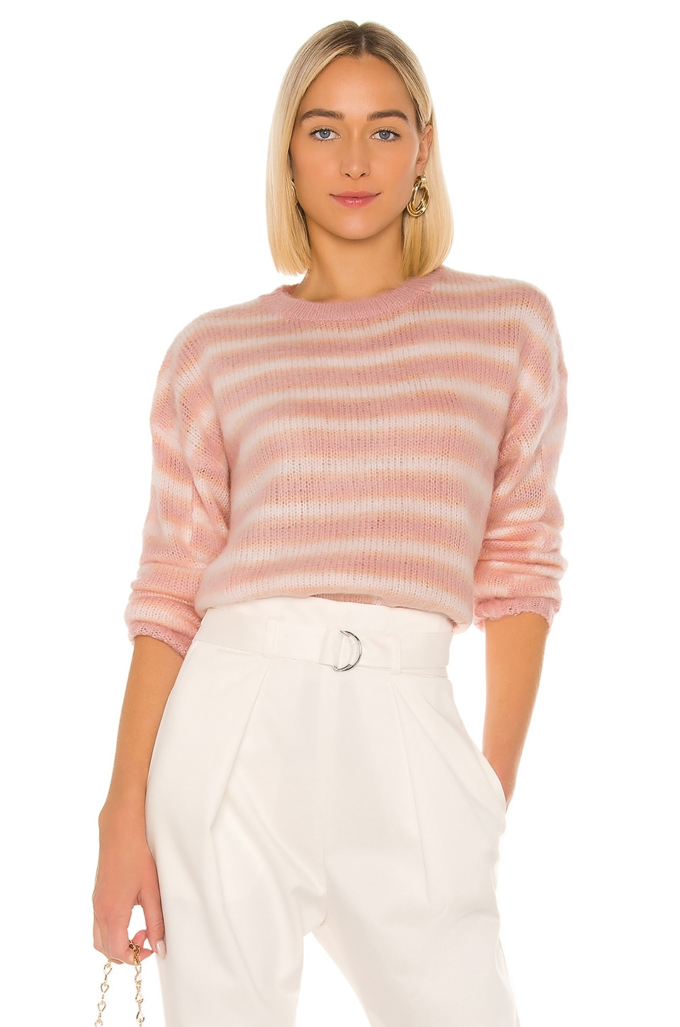MAJORELLE Allie Sweater in Pink Lemon