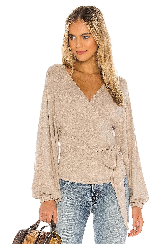 MAJORELLE Booker Sweater in Oatmeal