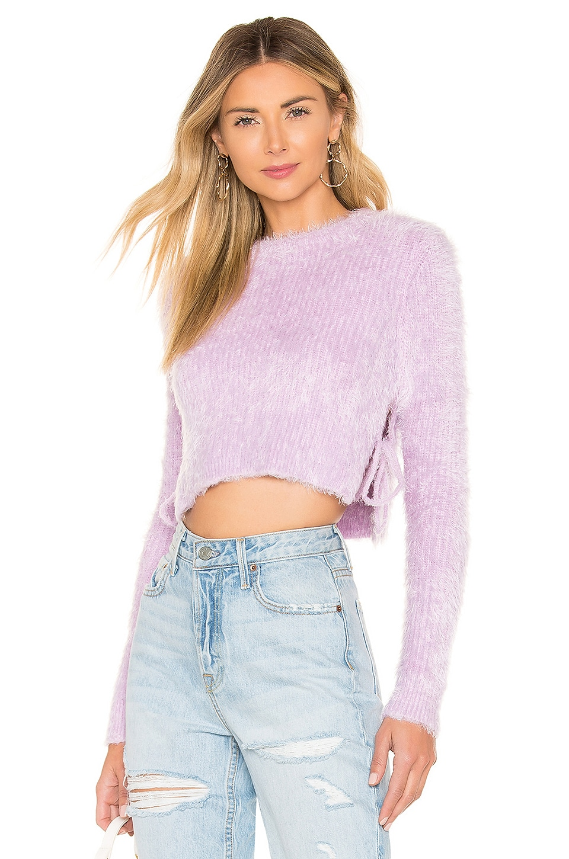 MAJORELLE Marjorie Sweater in Lilac