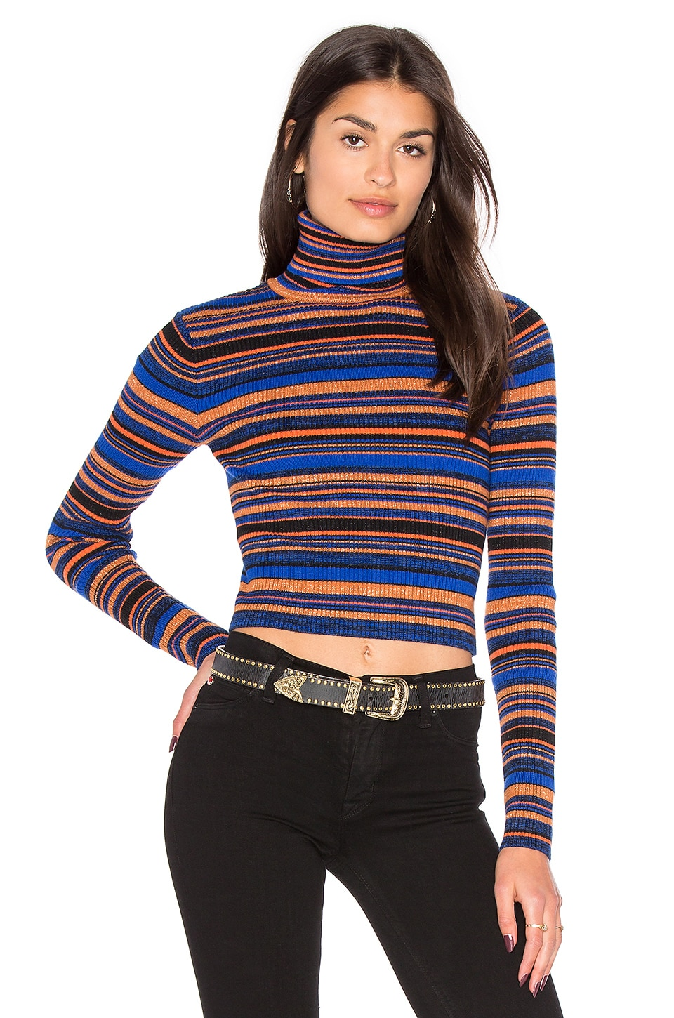 MAJORELLE Shelly Sweater in Stripe