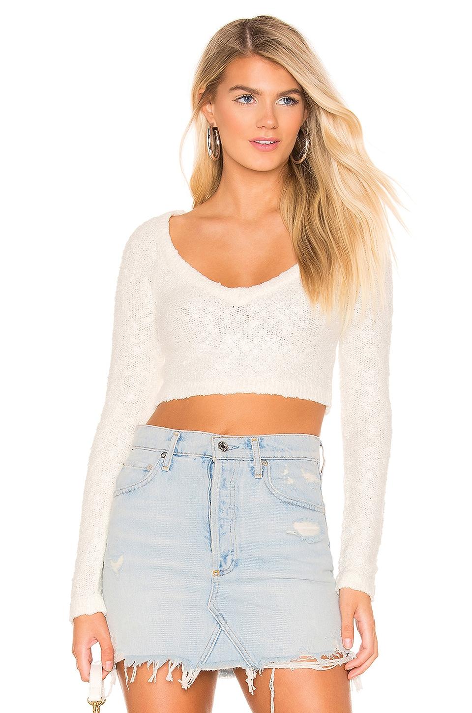 MAJORELLE Charmed Sweater in Cream