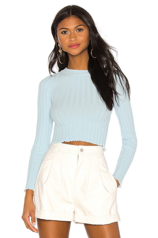 MAJORELLE Lexington Sweater in Sky Blue