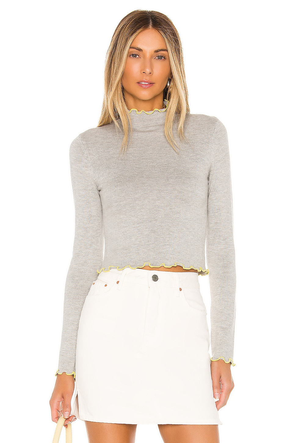 MAJORELLE Gia Sweater in Grey