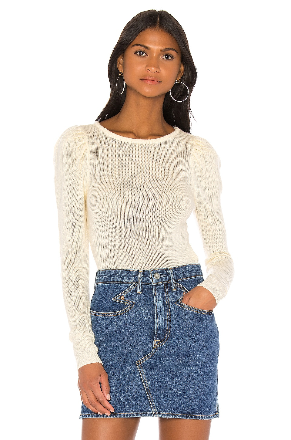 MAJORELLE Brigitte Sweater in Ivory