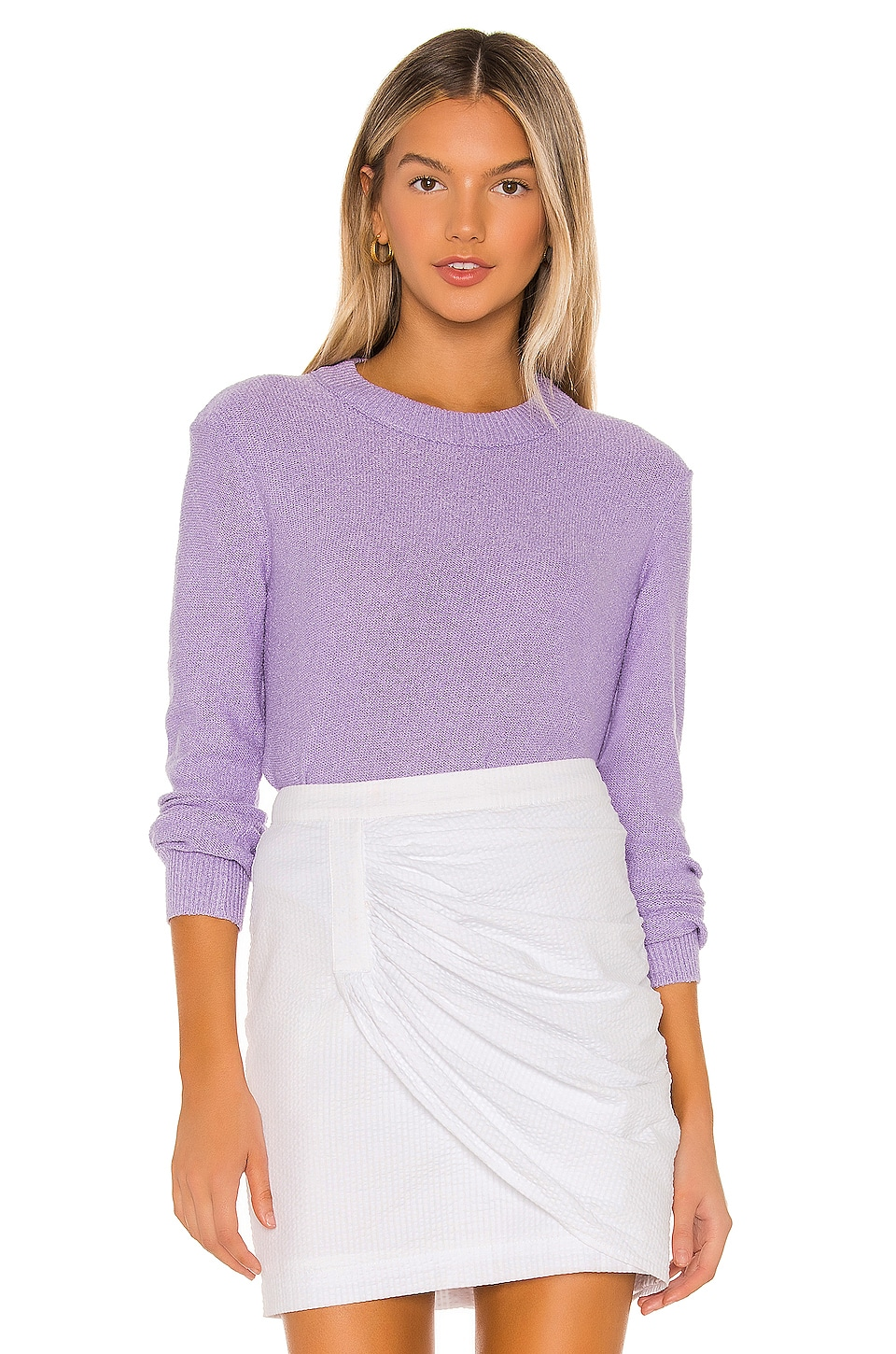 MAJORELLE Avianna Sweater in Light Purple