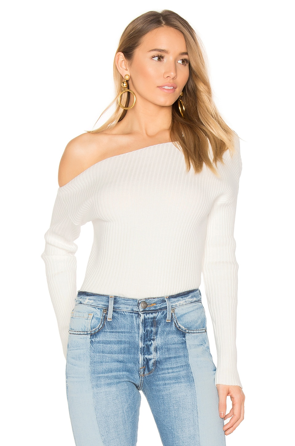 MAJORELLE x REVOLVE Twister Sweater in Ivory