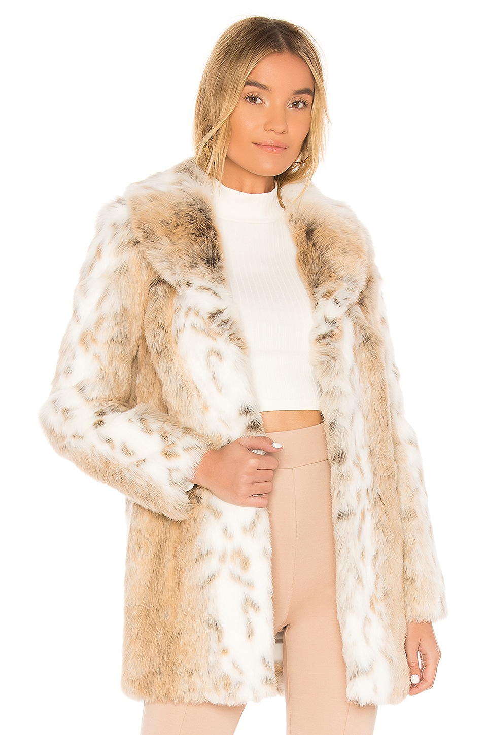 Tatiana Faux Fur Coat