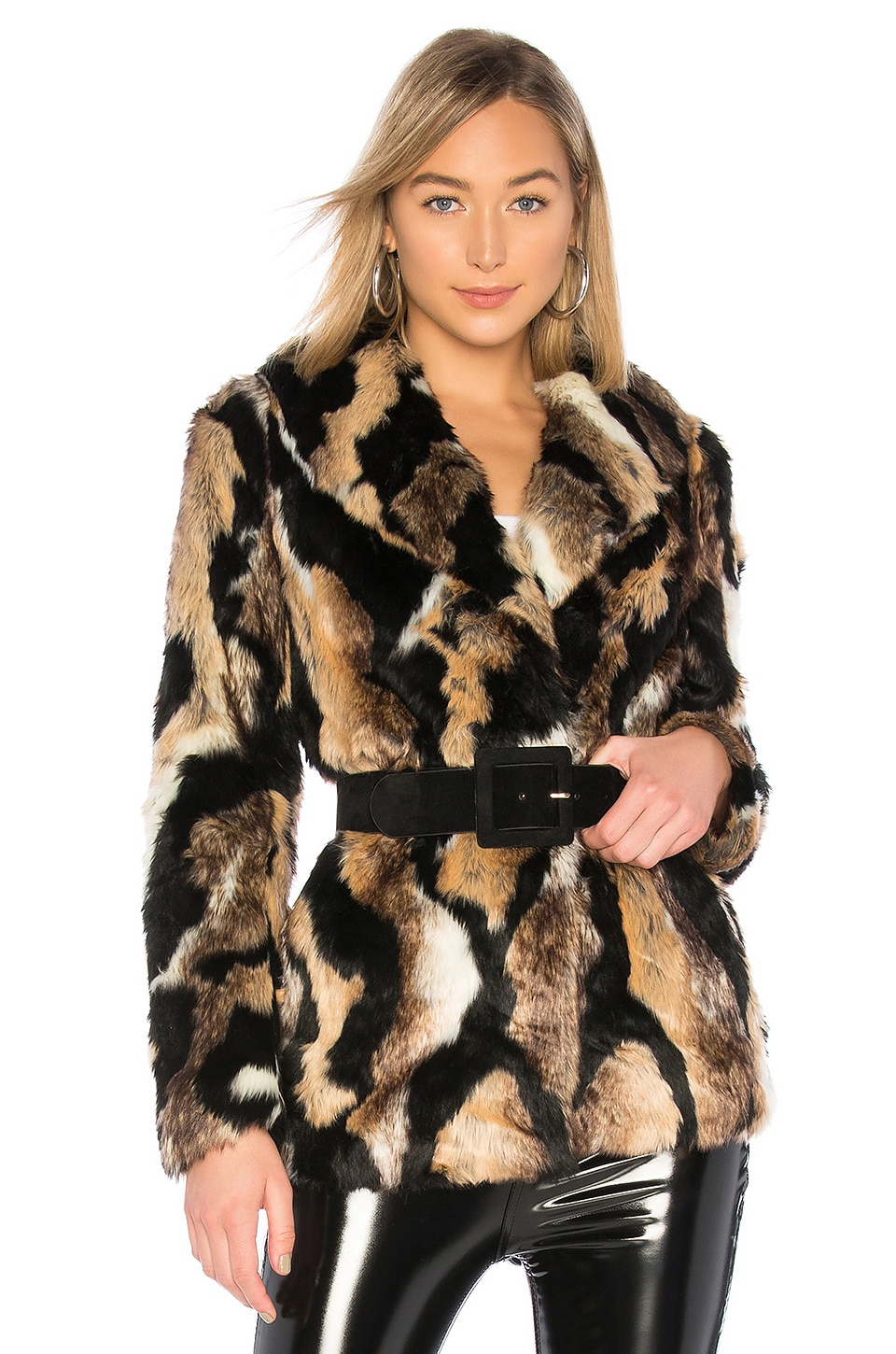 MAJORELLE Colton Coat in Wildcat