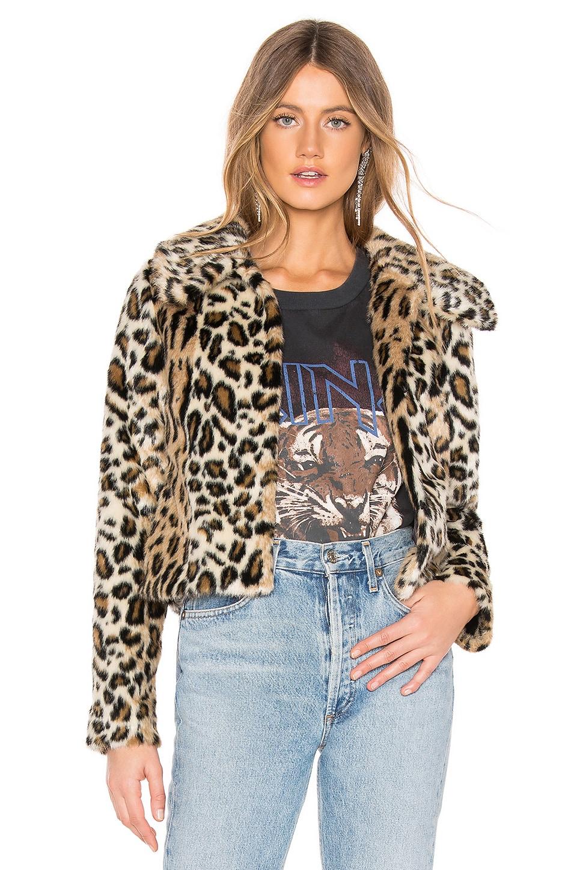 MAJORELLE Ryder Jacket in Leopard