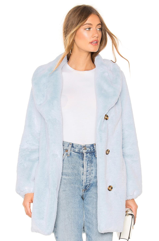 MAJORELLE Brinley Coat in Baby Blue