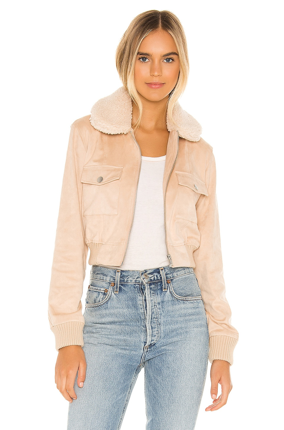 MAJORELLE Dani Jacket in Beige