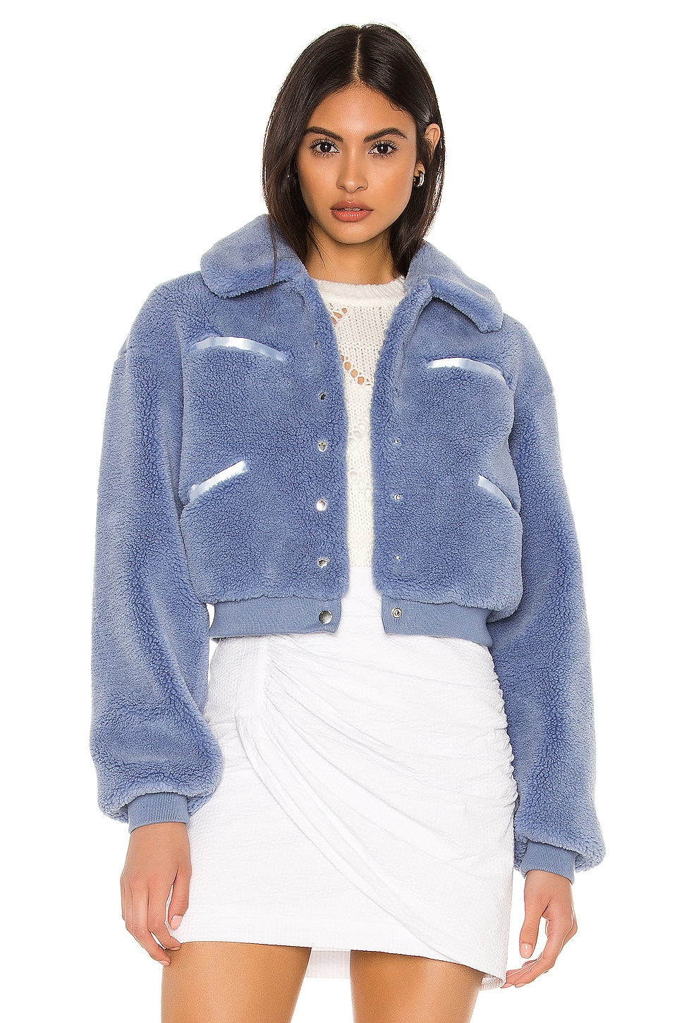 MAJORELLE Rex Jacket in Indigo Blue