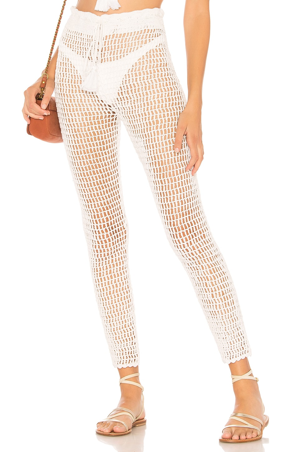 MAJORELLE Hilary Pant in White