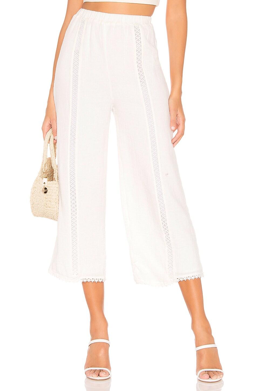 MAJORELLE Privett Pant in Ivory