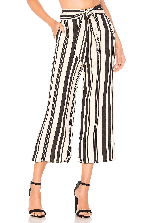 MAJORELLE Carisma Pant in Black Stripe