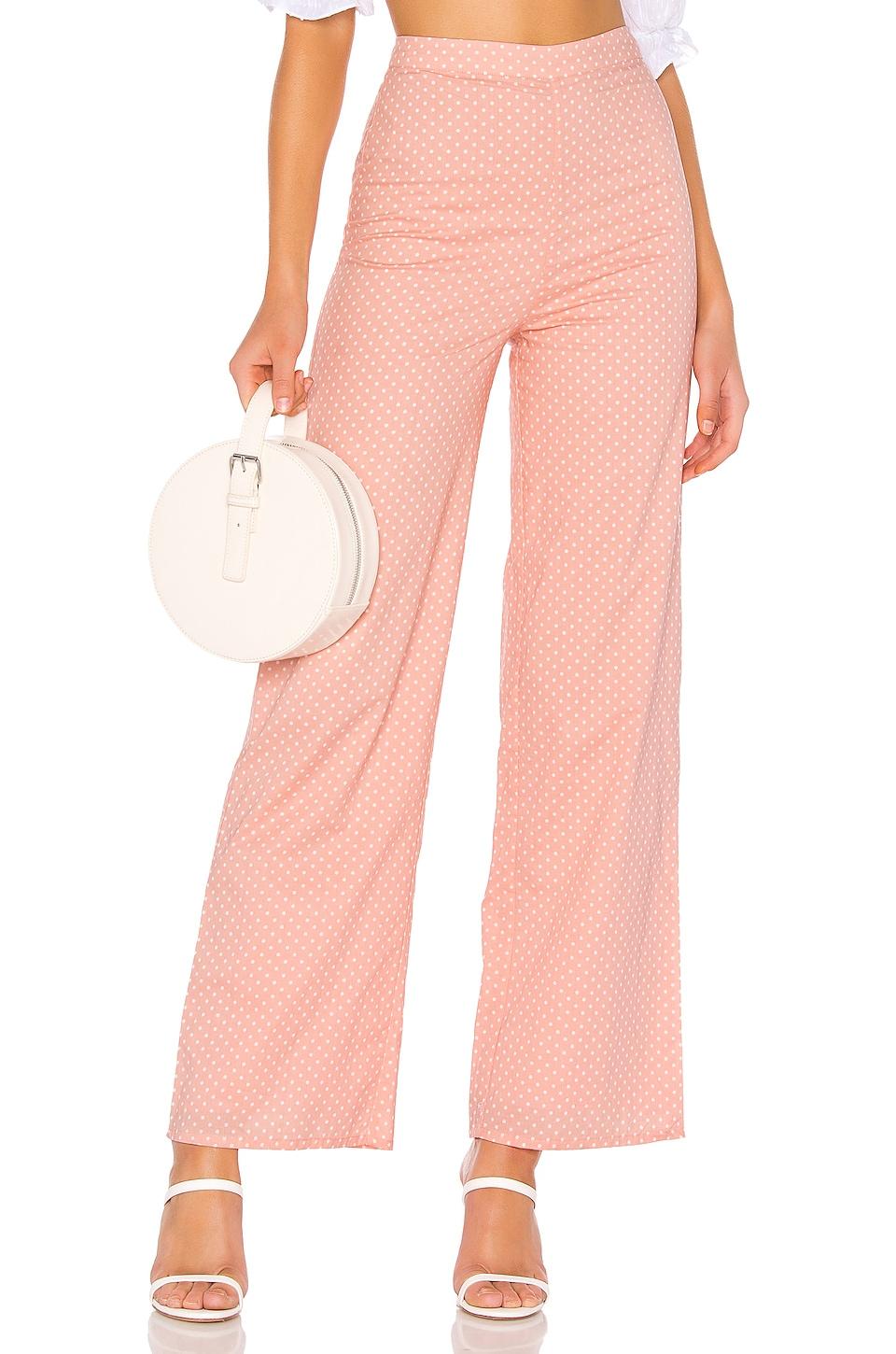 MAJORELLE Brandy Pants in Pink Dot