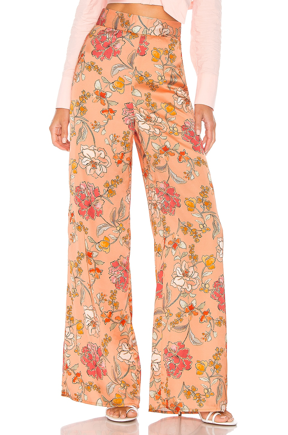 MAJORELLE Angie Pant in Vienna Orange