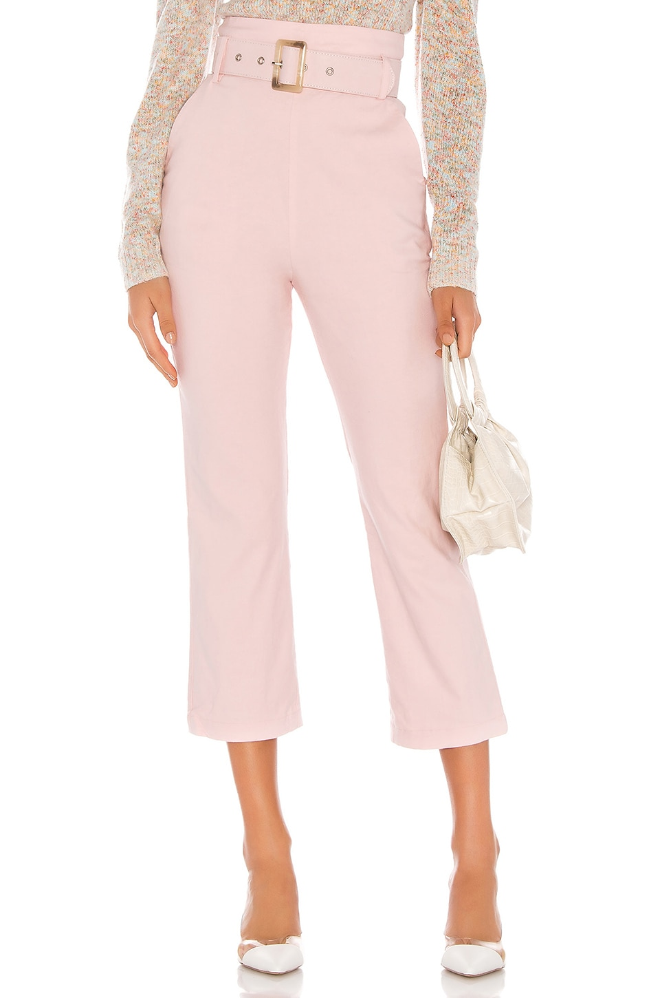 MAJORELLE Camden Pant in Blush Pink