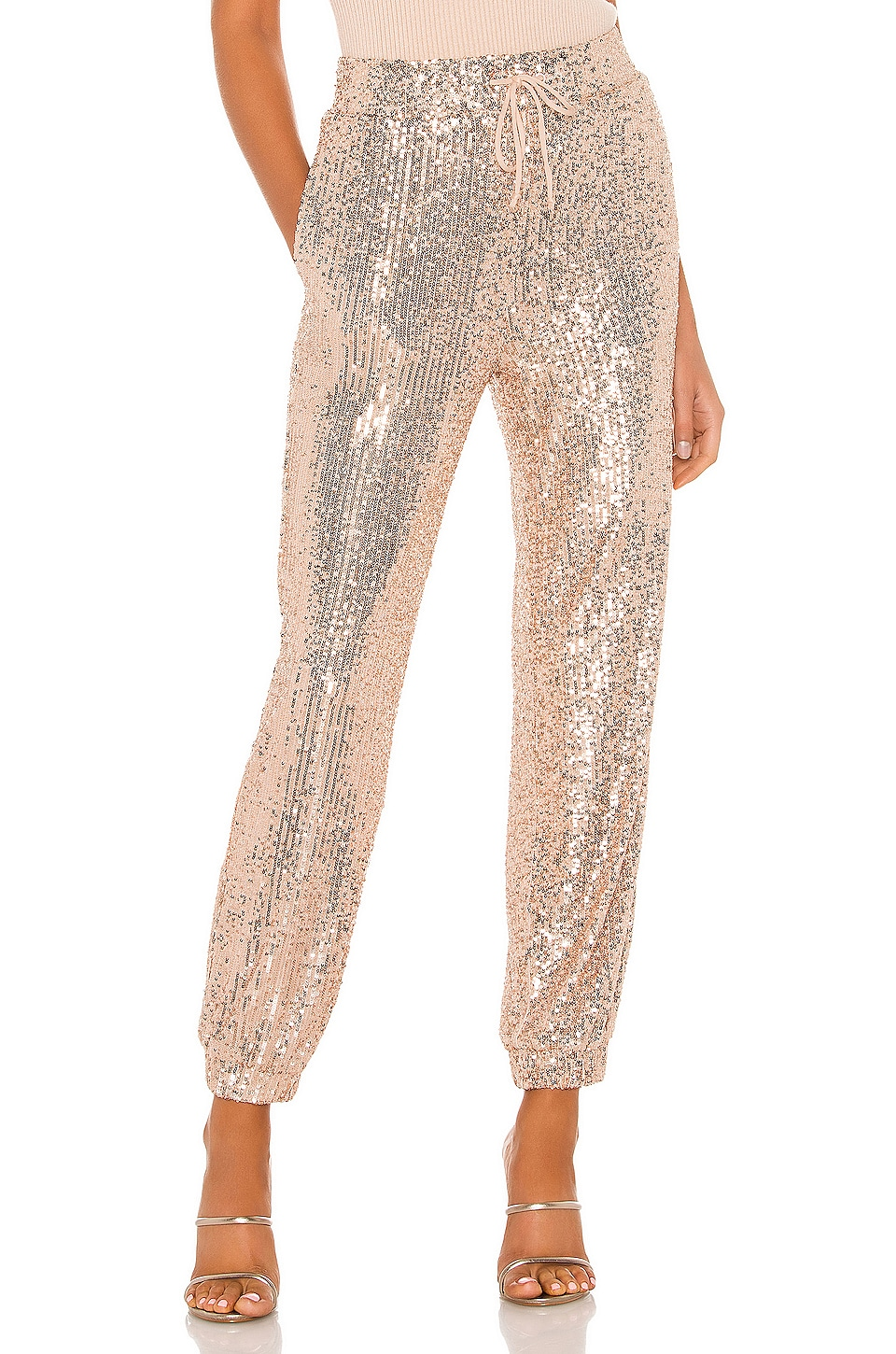 MAJORELLE Cairo Pant in Champagne
