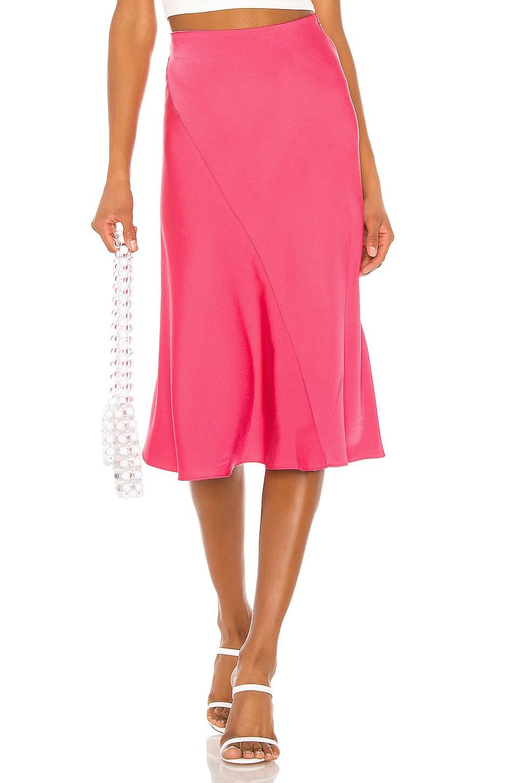 MAJORELLE Kara Skirt in Coral
