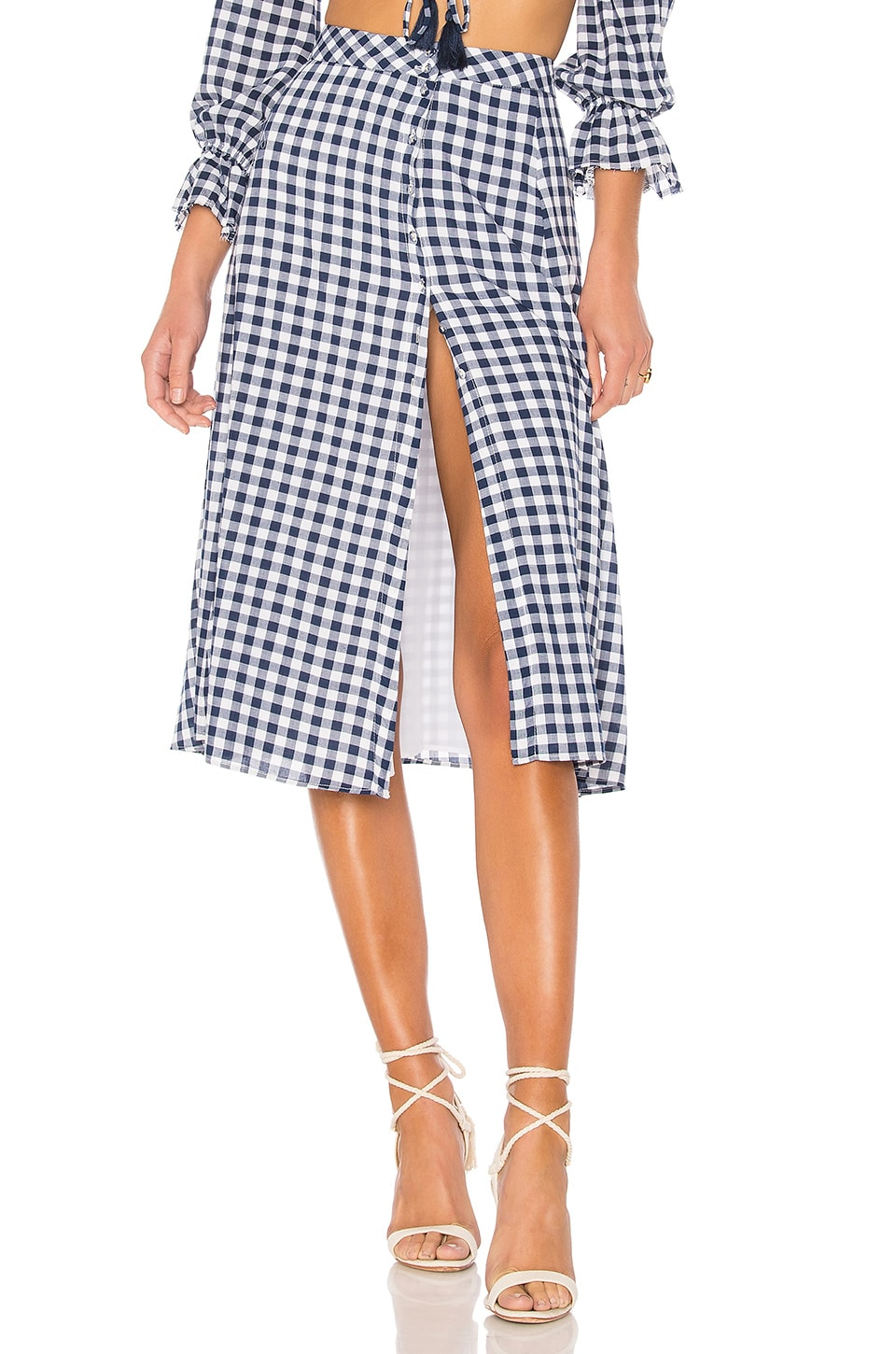 MAJORELLE x REVOLVE Emery Skirt in Oxford
