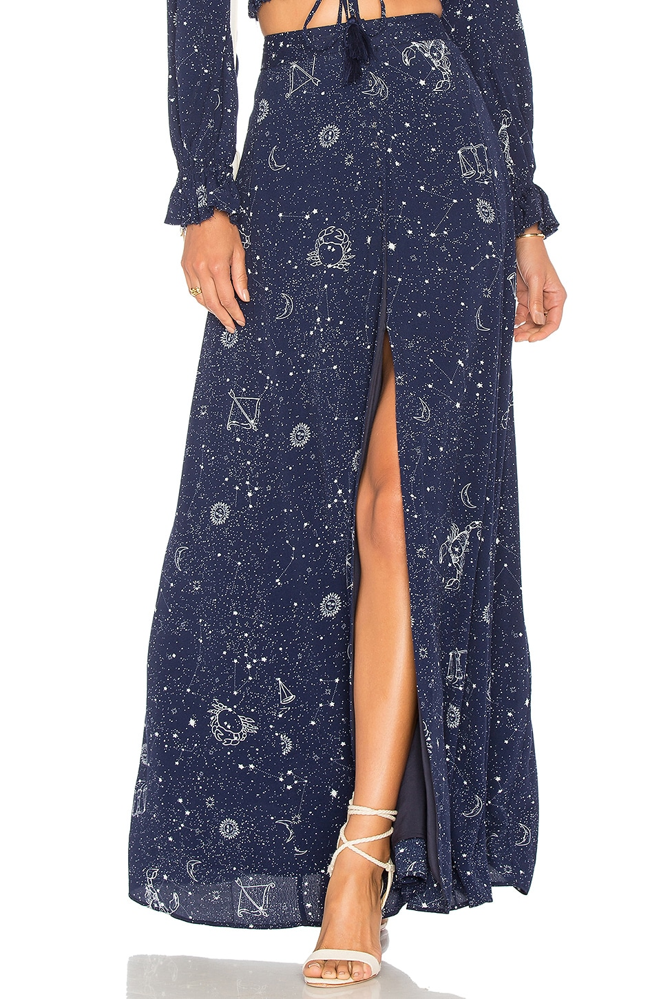 MAJORELLE Sunday Skirt in Comet