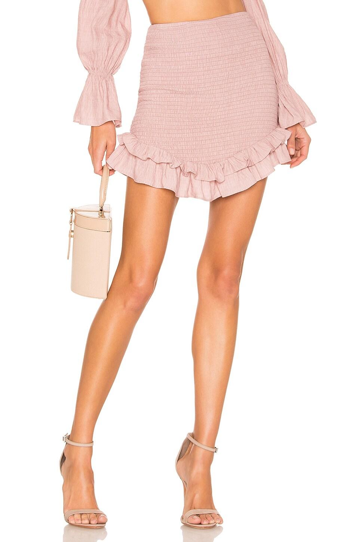 MAJORELLE Lark Skirt in Blush