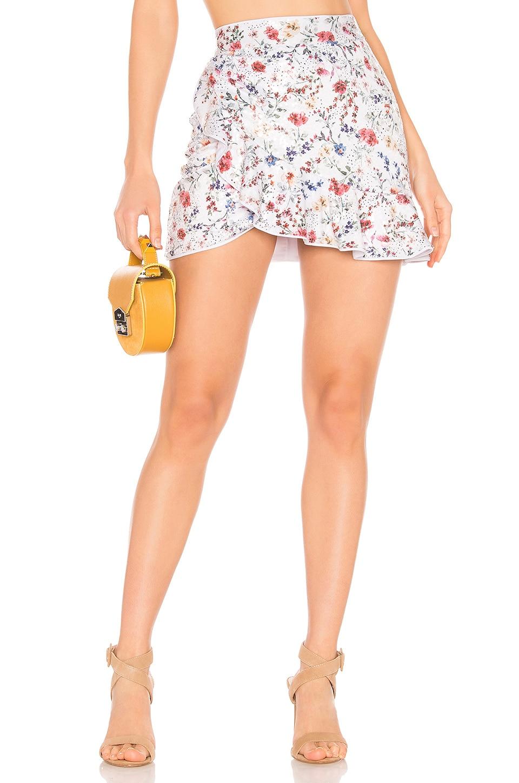 MAJORELLE Poseidon Skirt in Vintage Multi