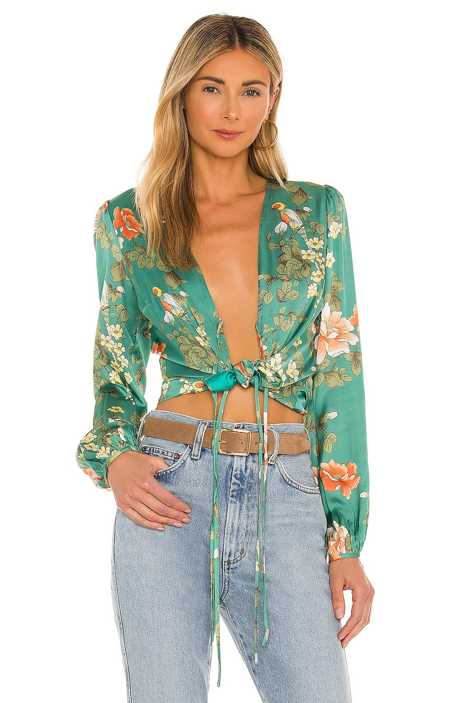 MAJORELLE Coco Top in Bellbird