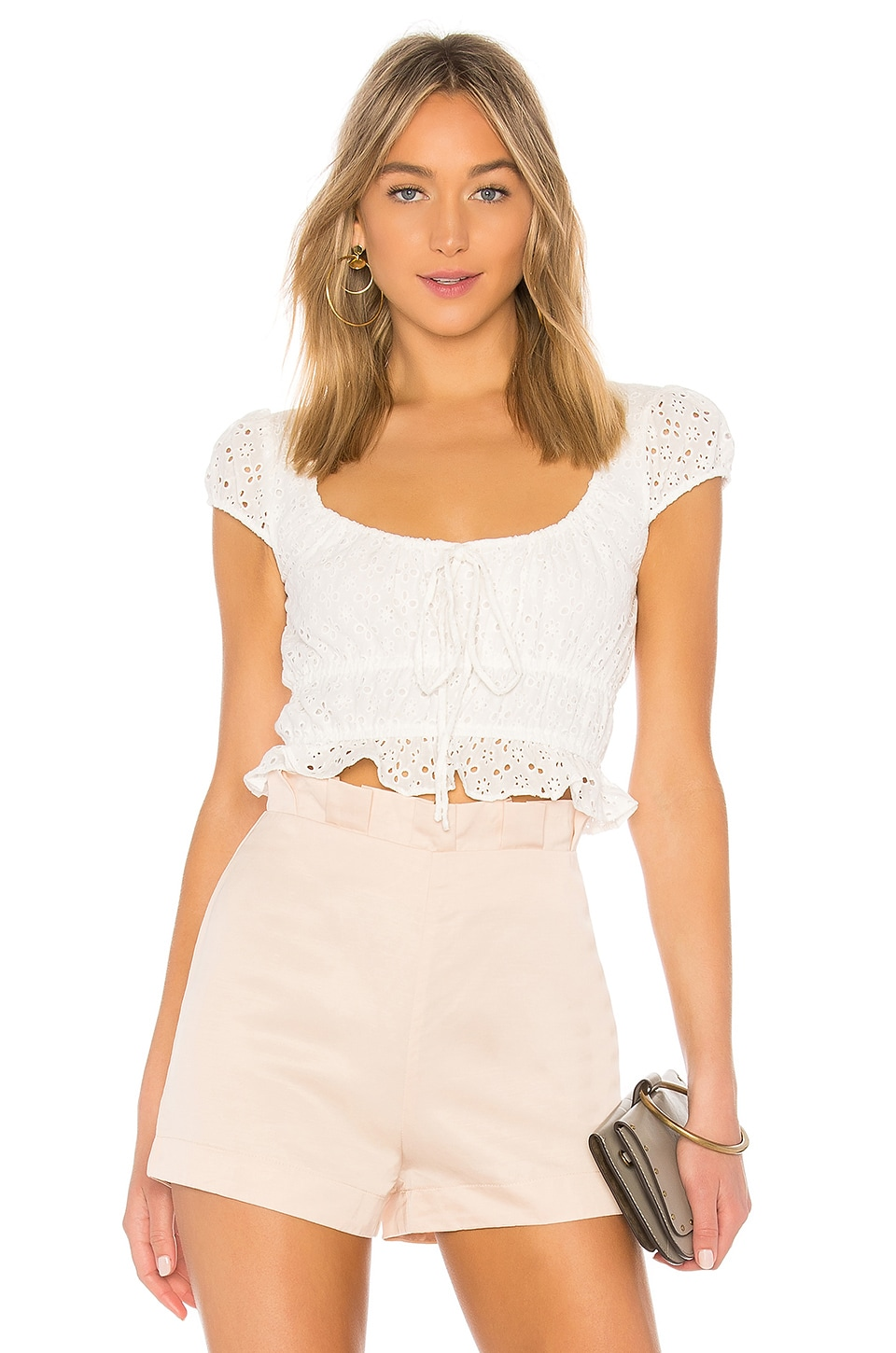 MAJORELLE Pegasus Top in White