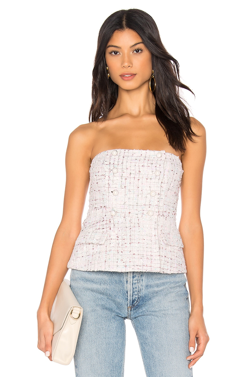 MAJORELLE Bobbi Top in Pastel Multi