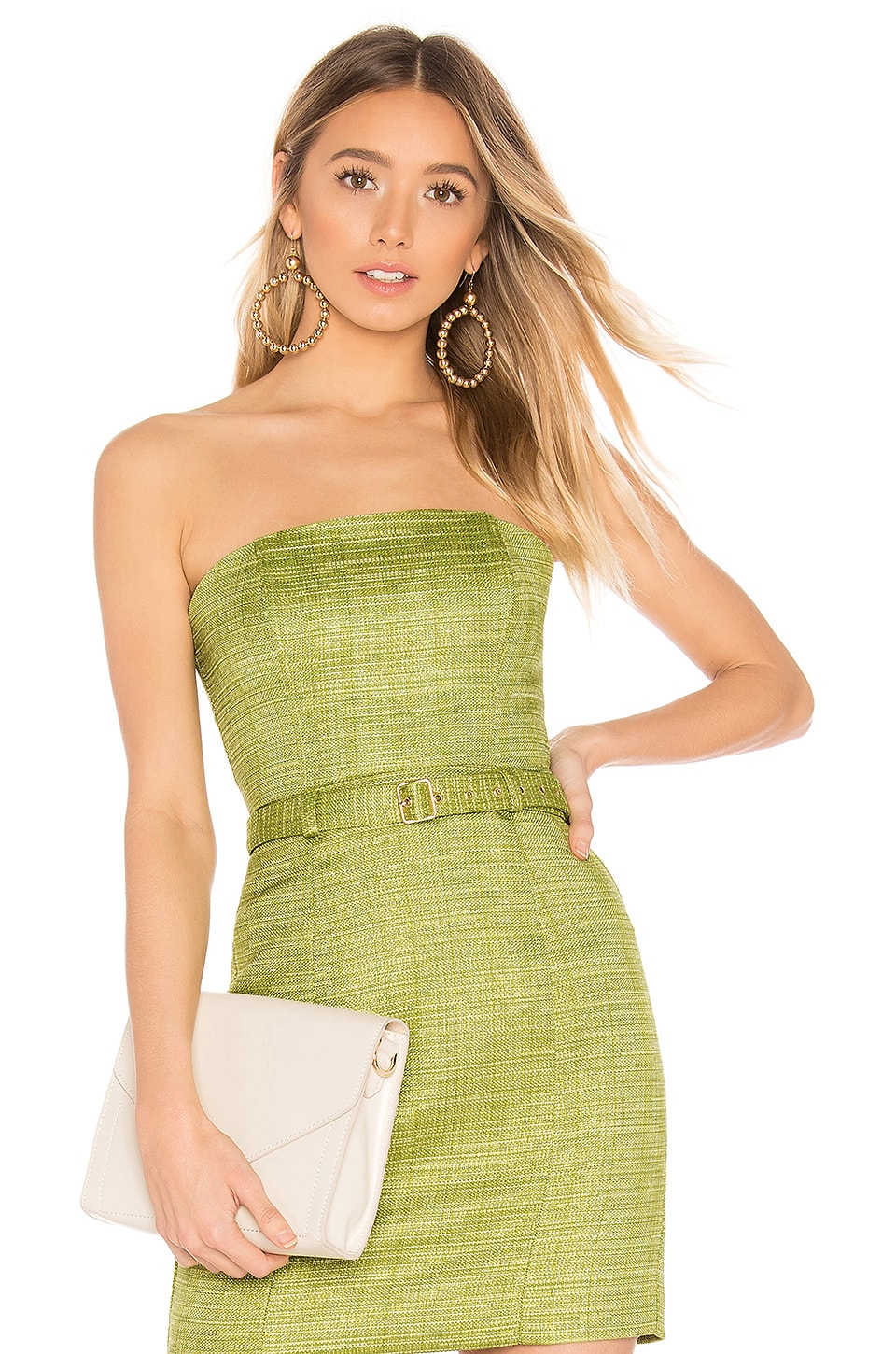 MAJORELLE Marrakesh Top in Pear Green