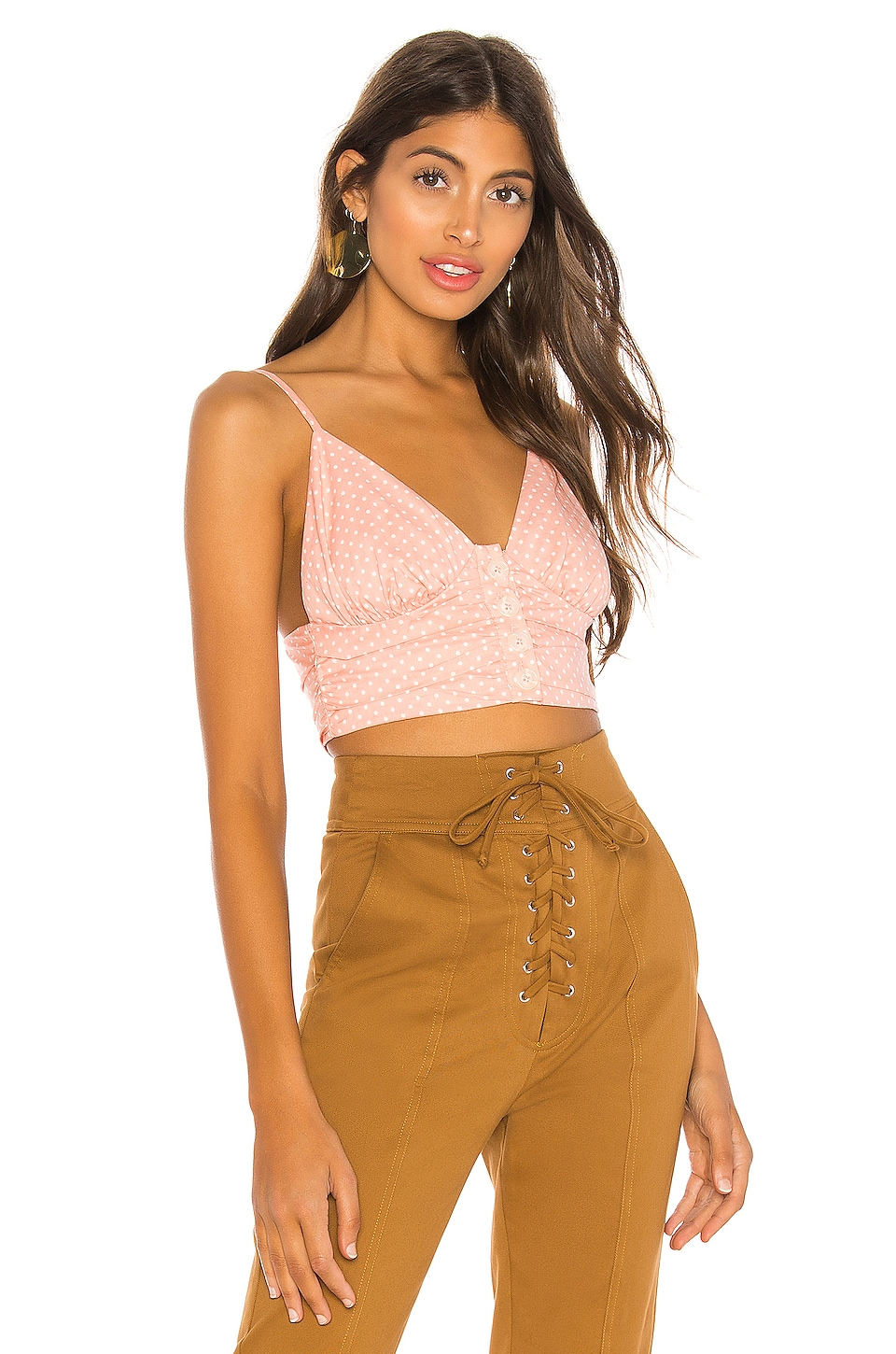 MAJORELLE TOP CROPPED RYAN